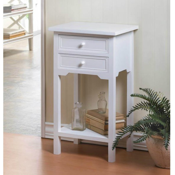Classic Side Table - White