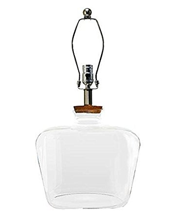 Clearview Fillable Table Lamp Base