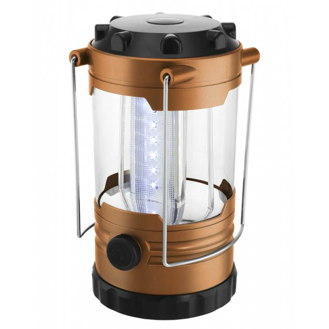 Copper-Finish Mini Camping Lantern