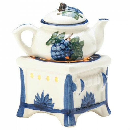 Country Teapot and Stove Oil Warmer