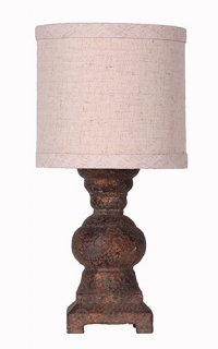 Monte Urn Accent Lamp with Shade