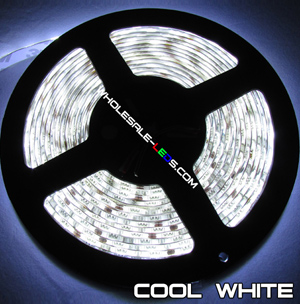 NovaBright 5050SMD Cool White Flexible LED Light Strip 16 Ft Reel Only