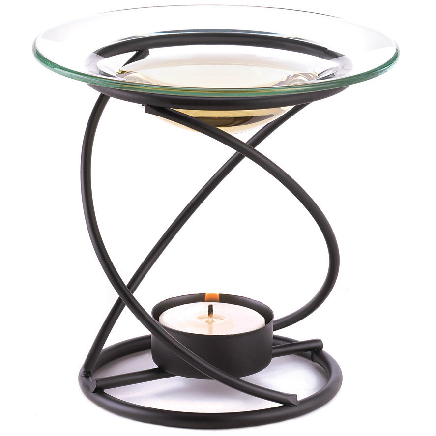Spiral Metal Oil Warmer