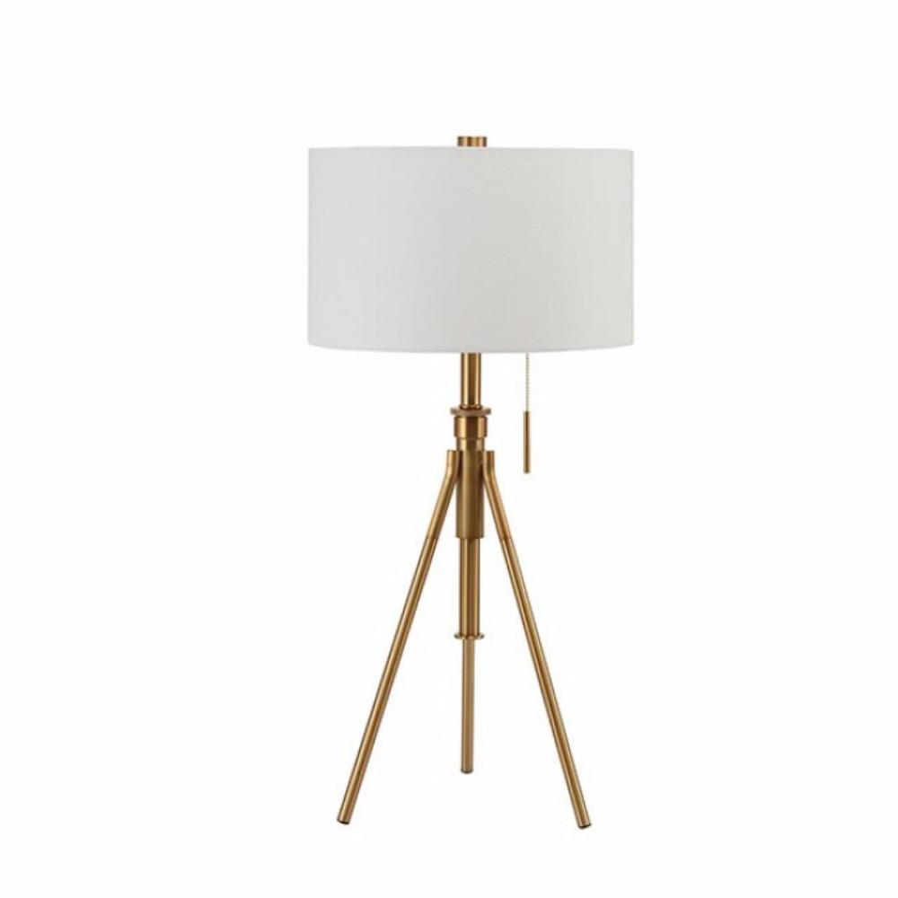 Zaya Contemporary Table Lamp, Stained Gold BM141704